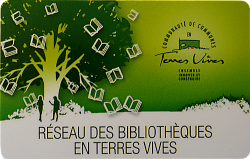 Carte Bibliotheque Terres Vives 500